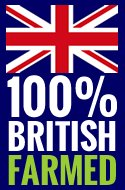 100% British farmed